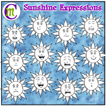 Emotions Clipart | Sunshine Expressions Clip Art