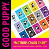 Emotions Color Chart . Child Behavioral & Emotional Tools