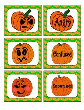 Emotions Concentration: Pumpkin Faces