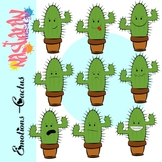 Emotions and Feelings Clip Art-Cactus Clipart