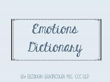 Emotions Dictionary