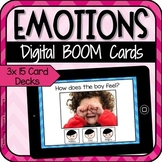 Emotions Digital Boom Cards Distance Learning