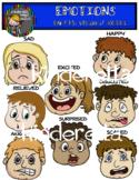 Emotions Digital Clip Art