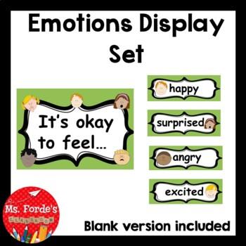 Emotions Display Set (it's okay to feel...)