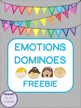 Emotions Dominoes Freebie