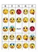 Emotions Emojis Bingo -Emotions Vocabulary in English