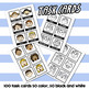 Emotions clip art Posters and Task Cards