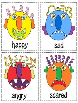 Emotions-Feelings Activities  for Elementary ELL part 2