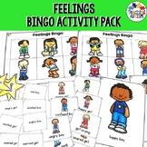 Feelings and Emotions Bingo Activities Pack