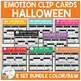 Emotion Clip Cards: Halloween