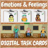 Emotions & Feelings - DIGITAL TASK CARDS Learning Game