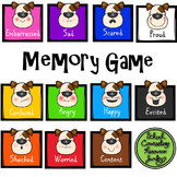 Identify & Recognize Emotions: Feeling Dog Memory Game