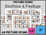 Emotions & Feelings: Picture Icon Cards (60 Picture Communication Symbols)