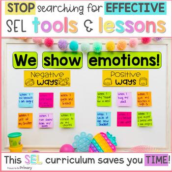 Emotions & Feelings Social Emotional Learning Curriculum