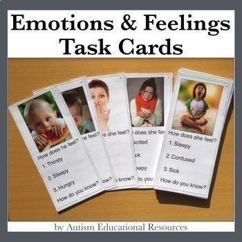 Emotions & Feelings Task Cards