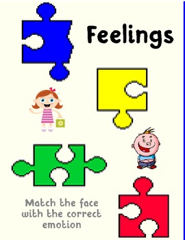 Emotions File Folder Game