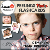 Feelings Flashcards - Photo Flashcards