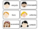 Emotions Flash Cards.  English and Spanish Emotions Flash Cards.  Preschool.