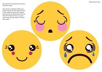 Emotions Flash Cards & Games, Preschool, Kindergarten , home school