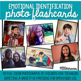 Emotions Flashcards | Real Photograph Emotions
