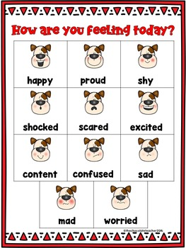 Emotions How Are You Feeling? Mini Poster FREEBIE
