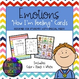"Emotions ""How I'm Feeling"" Cards"