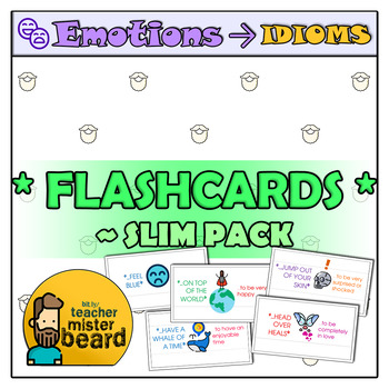Emotions → Idioms *Flashcards* — Slim Pack