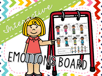 Emotions Interactive Bulletin Board for Speech