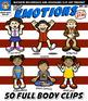 Emotions Kids Clip Art Set ~ {Squishies Clipart}