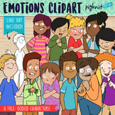 Emotions Clip art for Teens