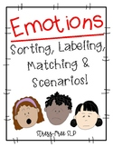 Emotions-Sorting, Labeling, Matching & Scenarios!