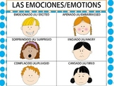 Emotions/ Las Emociones (Spanish and English)