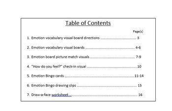 Emotions Learning Bundle