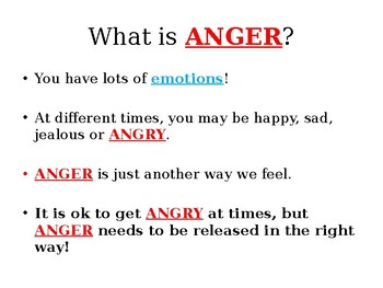 Emotions Lesson