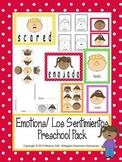 Emotions/ Los Sentimientos Preschool Pack