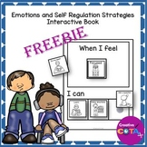 Sort and Match Emotions and Self Regulation Strategies Freebie