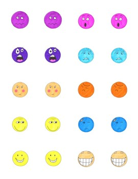 Emotions Matching Game