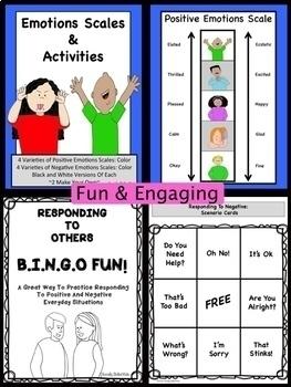 Emotions Activities MEGA BUNDLE {6 Activity Sets For K-5th}