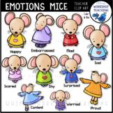 Emotions Mice Clip Art for Social Skills