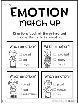 Emotions Mini Unit