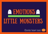 Emotions Monster/ Halloween English-Spanish