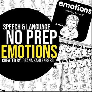 Emotions {No Prep Practice}