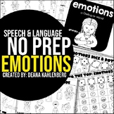 Emotions {No Prep Practice}