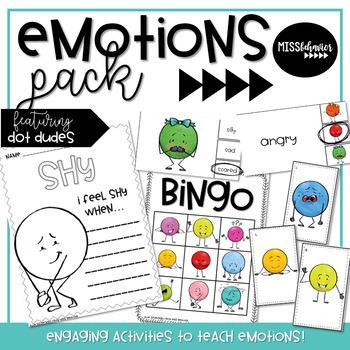 Emotions Activities | Feelings Activities | Dot Dudes!