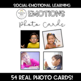 Emotions Photo Cards: 54 Cards w/Real Photos