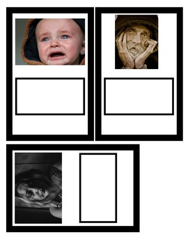 Emotions Photo Task Cards