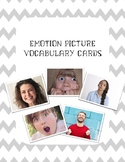 Emotions Picture Vocabulary Cards