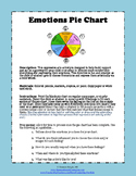 Emotions Pie Chart - Art Therapy Activity