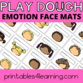 Emotions Play Dough Mats: Build a Face