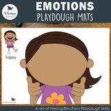 Emotions Playdough Mats